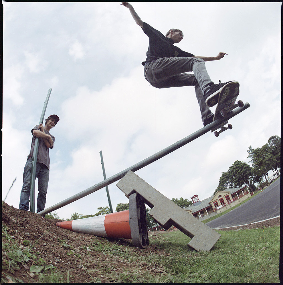 Last skate photo published sometime in 2012. Rules? What rules?
