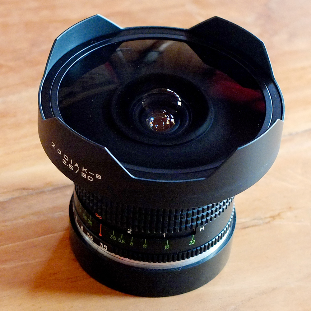 The fifth fisheye i owned, and the only one to escape unscathed