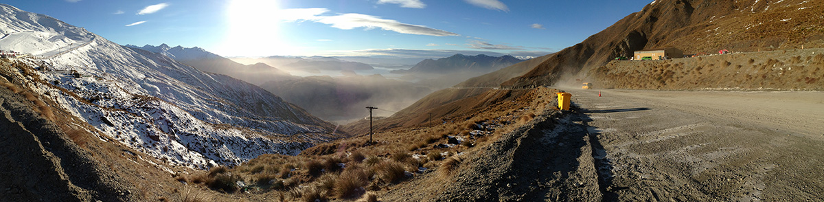Morning at Treble Cone